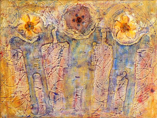 Flowers,Acrylic,40x30cm,09