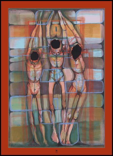 Prázno II.[Void II]akvarel,100x70cm,02