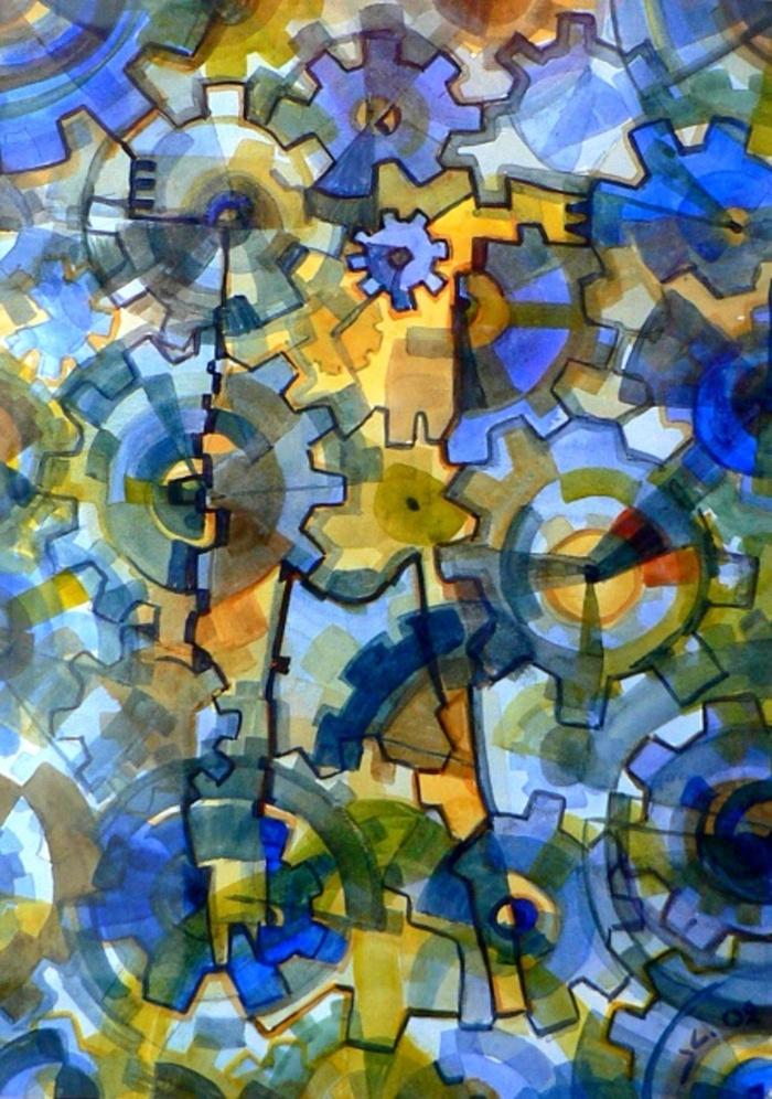 Soul,Watercolour,21x30cm,09o
